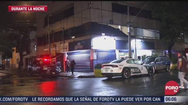 balaceras en cdmx dejan dos muertos y seis heridos entre ellos una embarazada