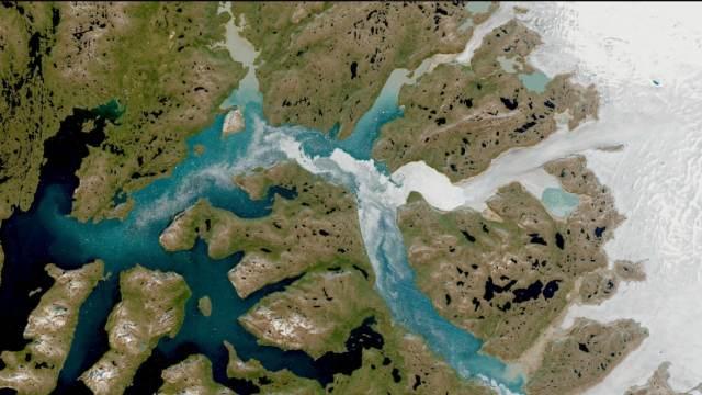 Después de años, llueve en Groenlandia como consecuencia del cambio climático