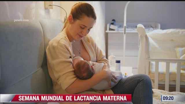 la semana mundial de lactancia materna
