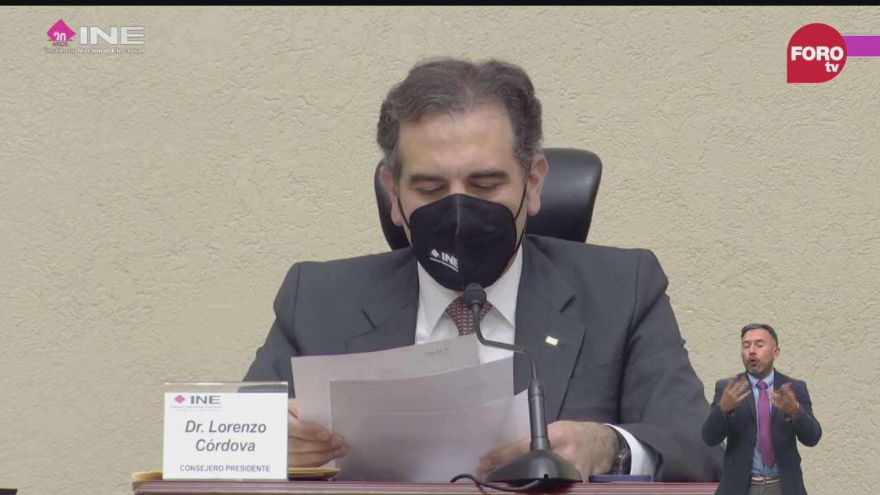 lorenzo cordova da a conocer resultados de consulta popular