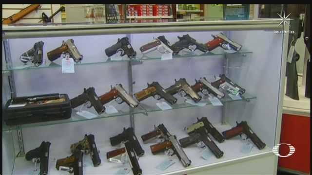 México demanda a EEUU por fabricación de armas de fuego