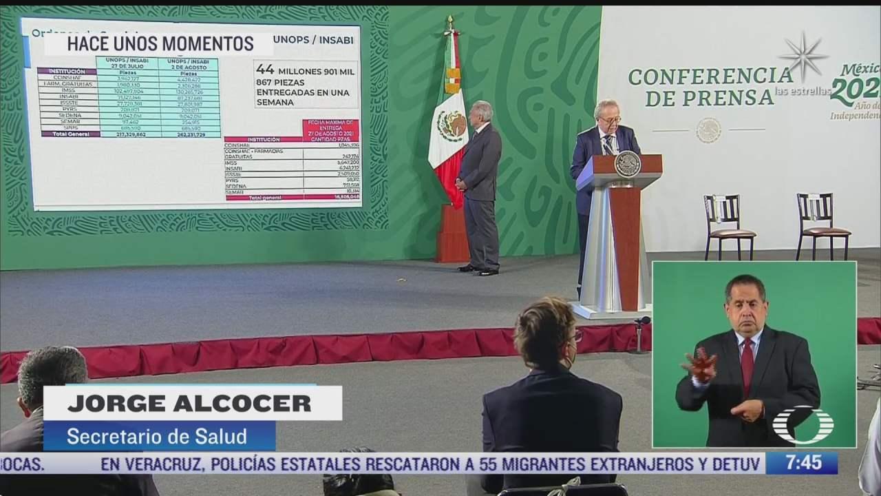 mexico ha comprado mas de 262 millones de medicamentos alcocer