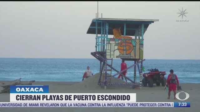 oaxaca cierra playas e implementa ley seca por covid