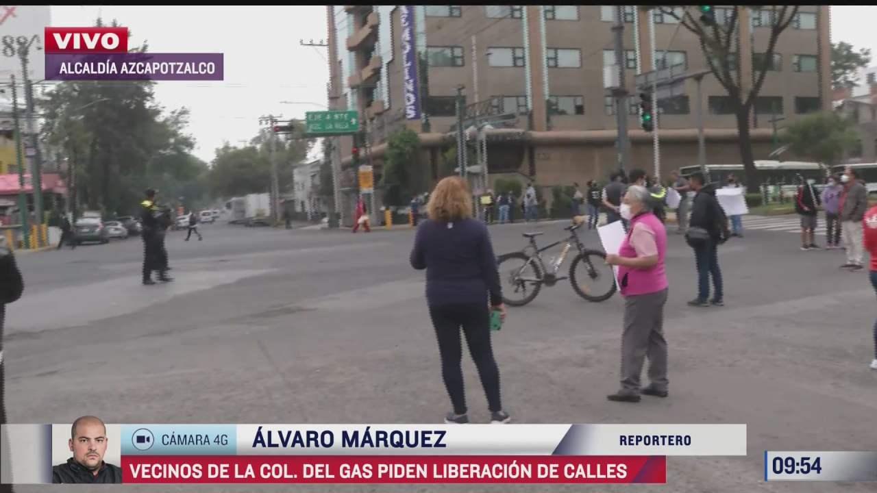 vecinos exigen liberacion de calles en la alcaldia azcapotzalco