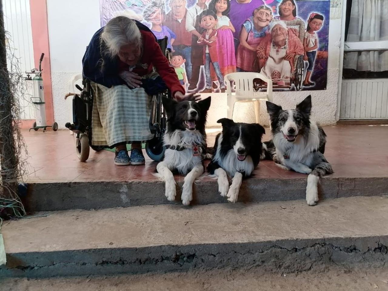 Mamá Coco en su casa en Michoacán