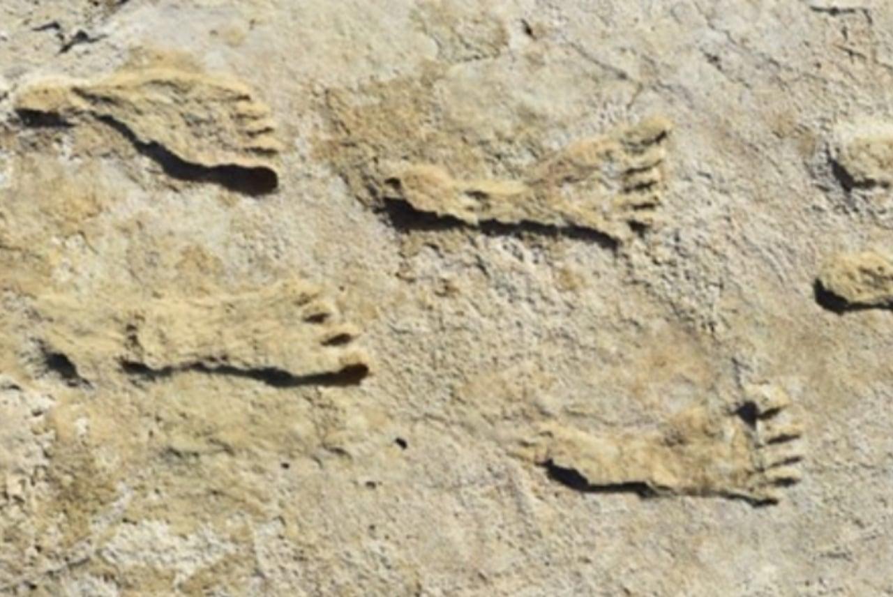 Huellas antiguas halladas en Nuevo México