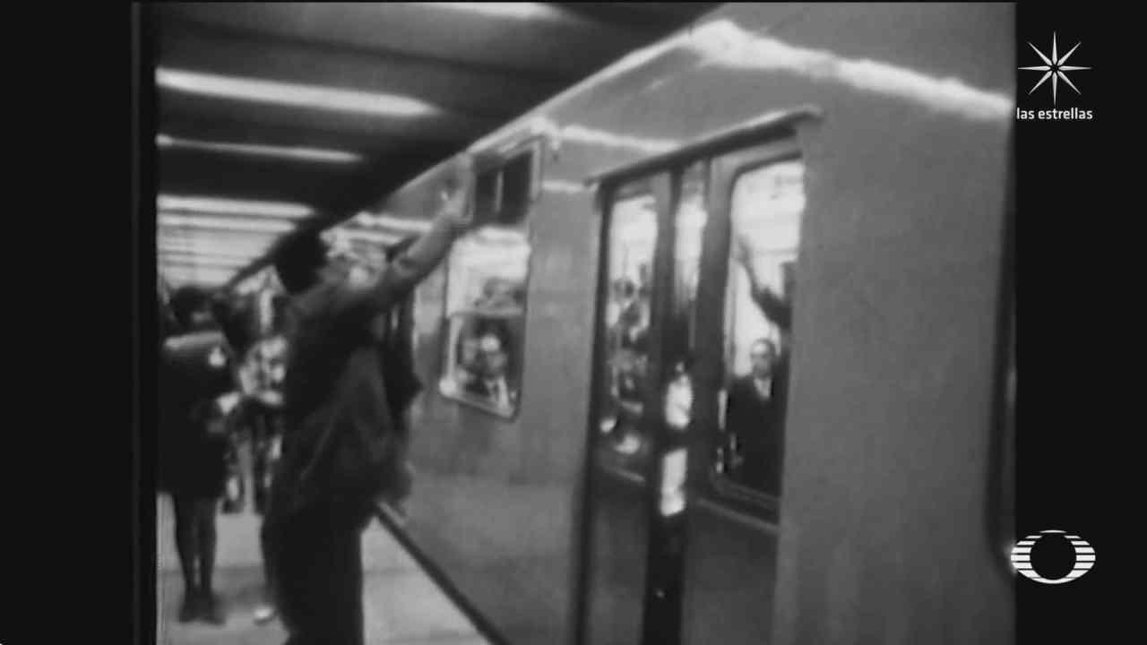 70 anos inauguracion del metro de la cdmx