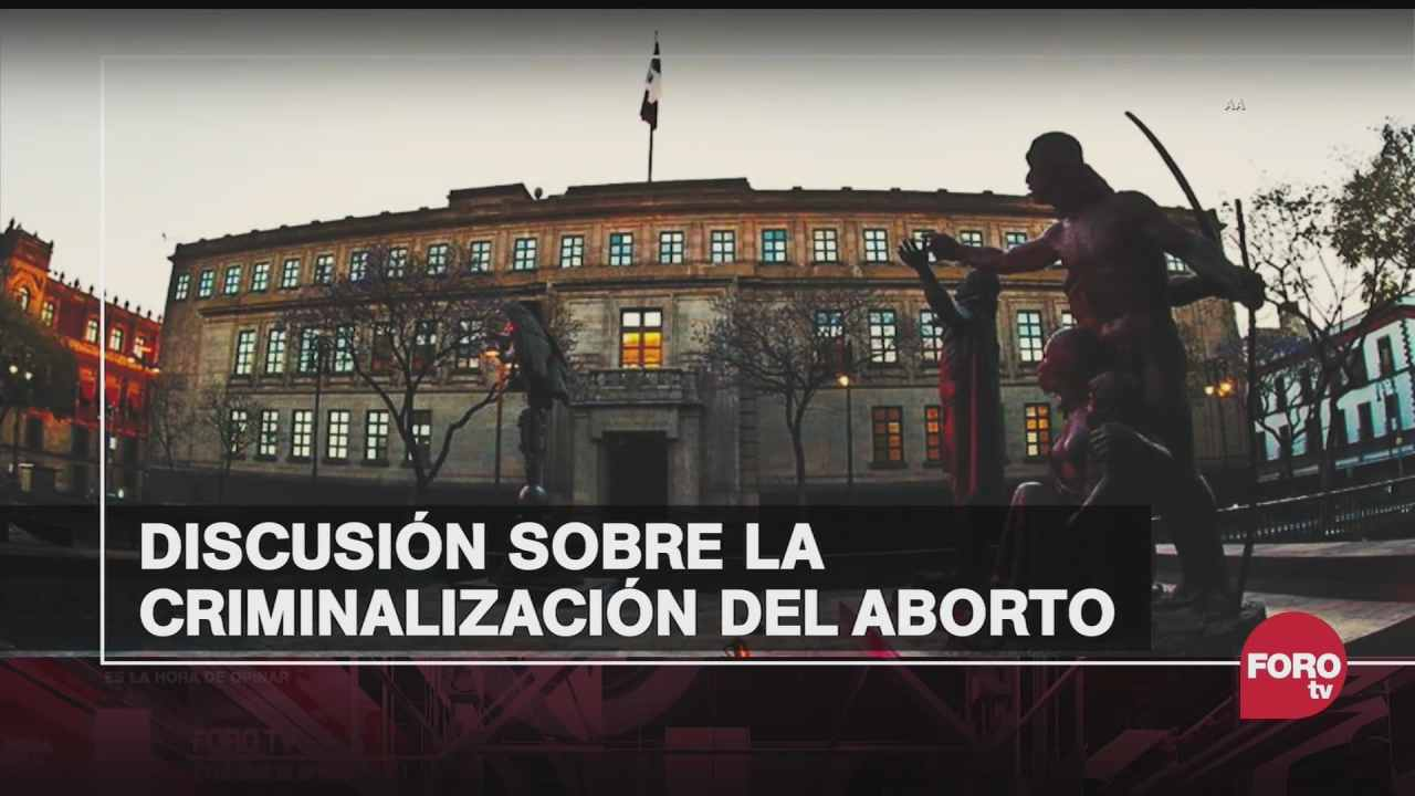 aborto en mexico diferencia entre legalizacion y despenalizacion