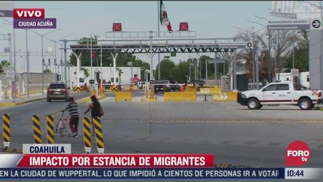 abren paso fronterizo entre ciudad acuna y texas