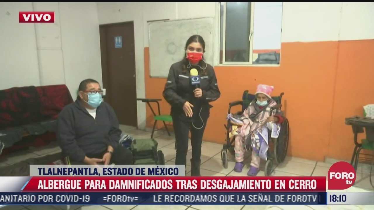 afectados por deslave en chiquihuite van a albergues