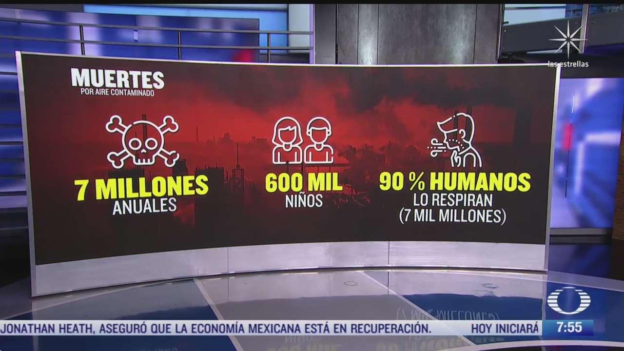 aire contaminado mata a siete millones de personas al ano segun la onu