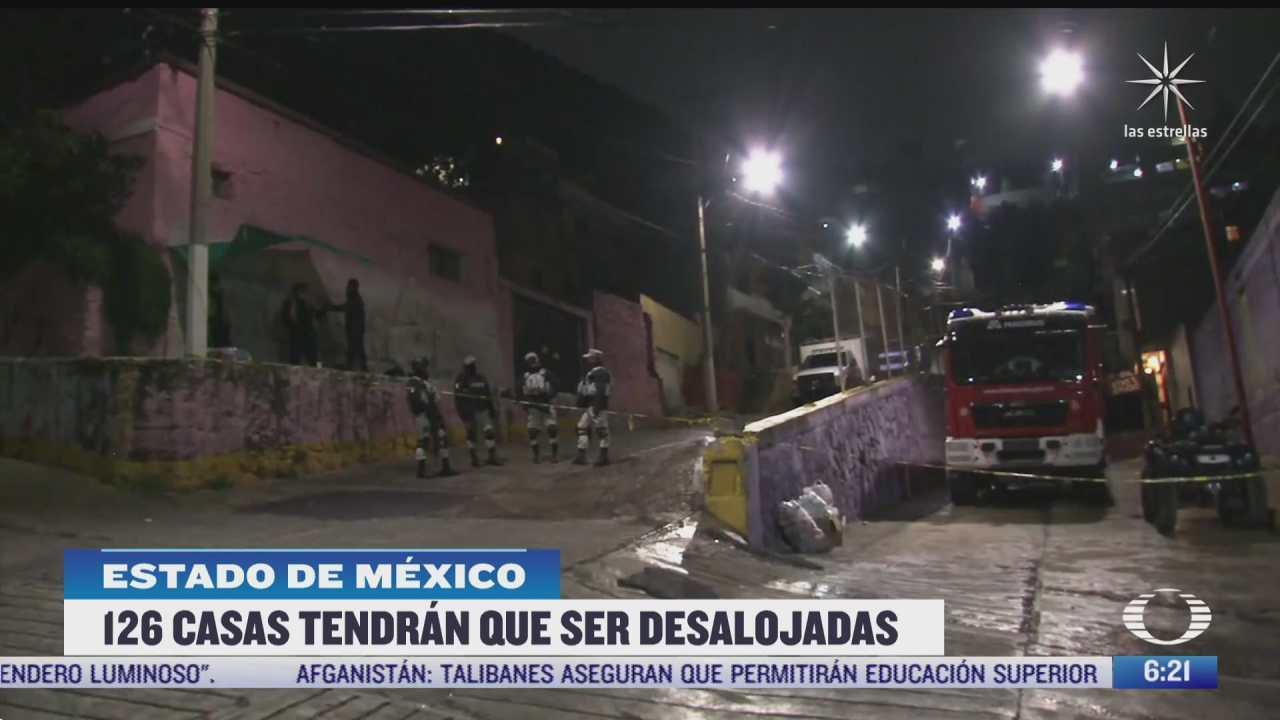 al menos 126 casas tendran que ser desalojadas por deslave del cerro del chiquihuite