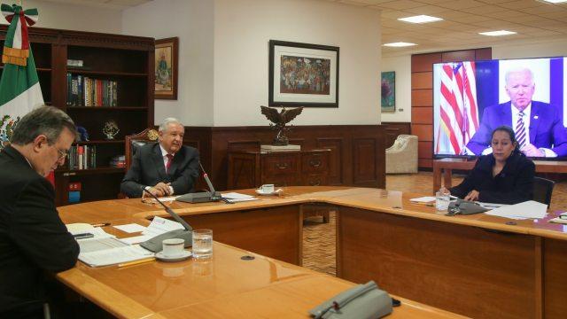 AMLO durante su participación en el Foro de las Grandes Economías sobre Energía y Cambio Climático.