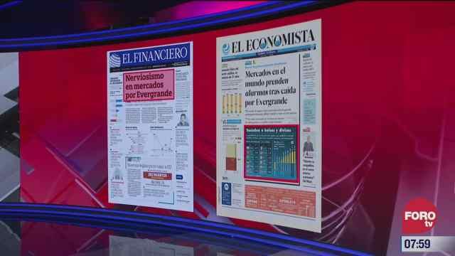 analisis de las portadas nacionales e internacionales del 21 de septiembre del
