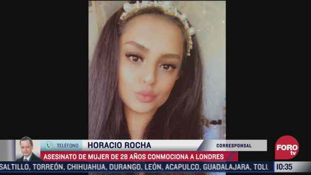 asesinato de mujer de 28 anos conmociona a londres
