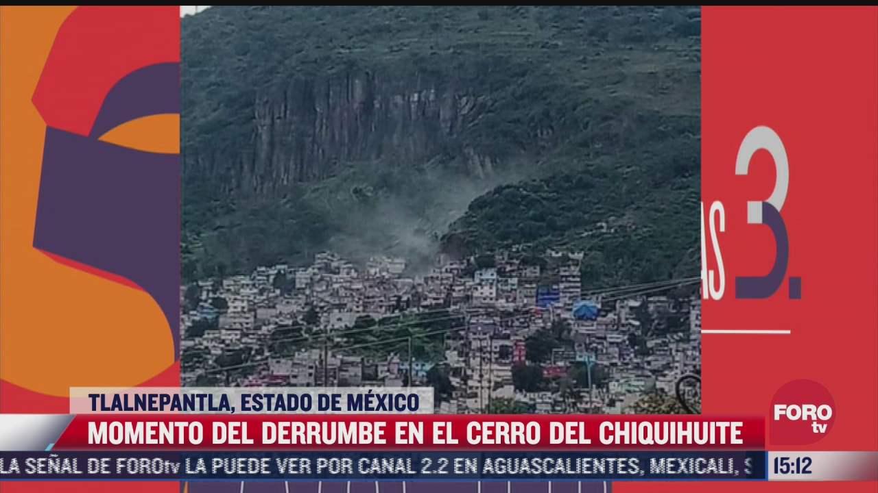 asi fue el derrumbe que sepulto casas en el cerro del chiquihuite