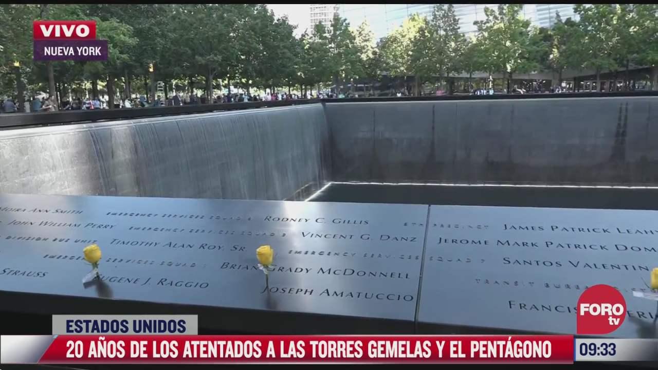 asi luce la zona cero a 20 anos de los atentados terroristas del 11 s en nueva york