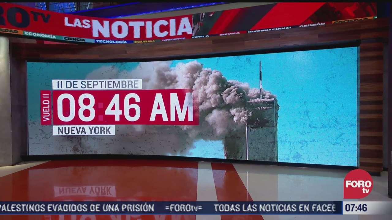 asi se impactaron los aviones en atentados del 11 s