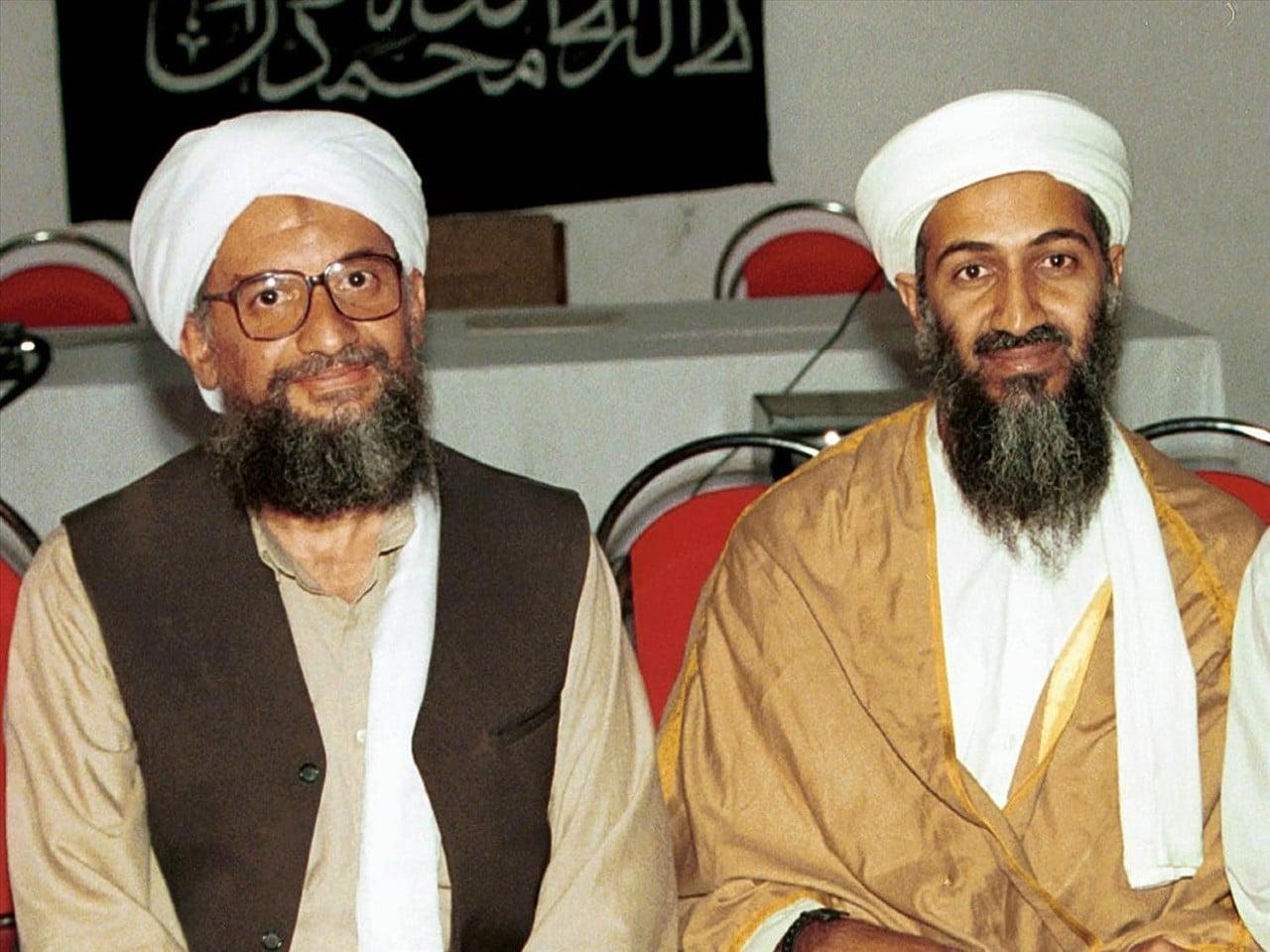 al Qaeda, Osama bin Laden, George W Bush, 11 de septiembre, atentados terroristas, collage