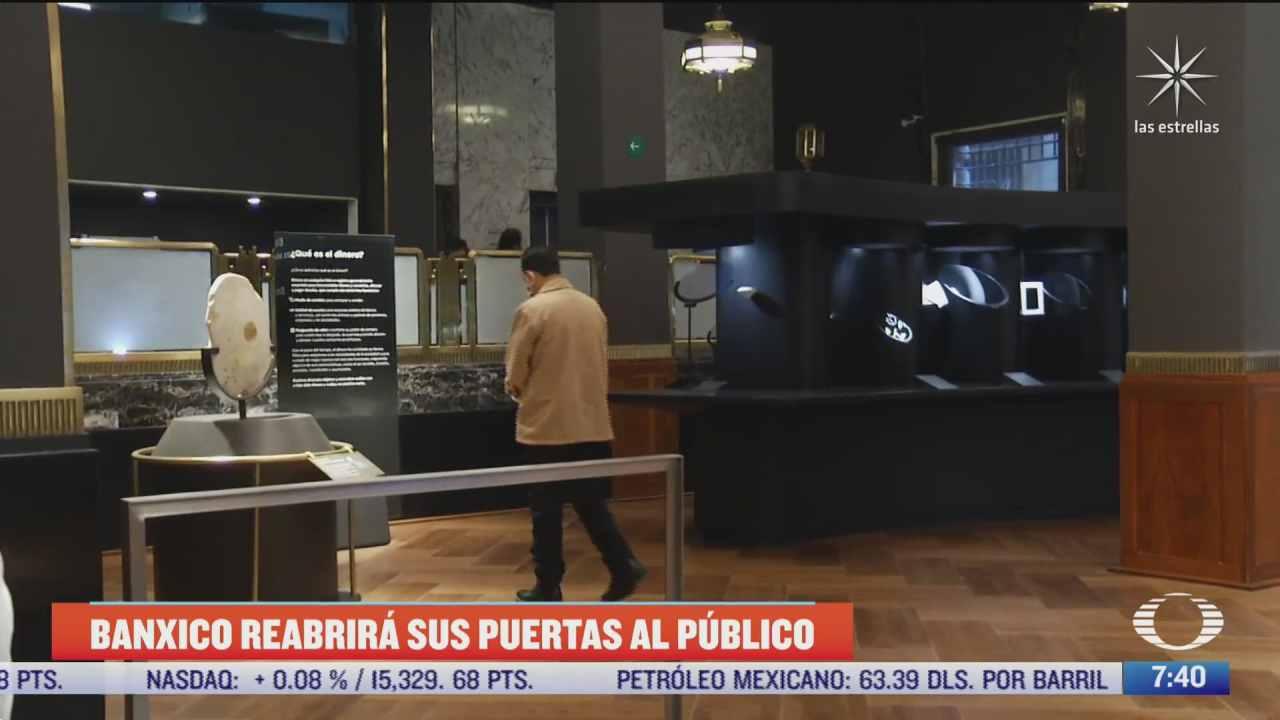 banco de mexico reabre al publico su edificio principal