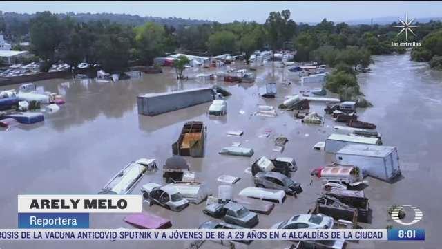 cada ano mexico pierde 230 millones de dolares por inundaciones
