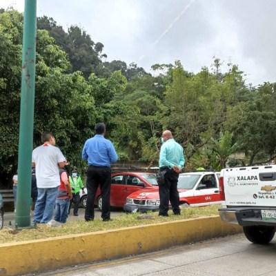 Carambola en Veracruz deja tres lesionados