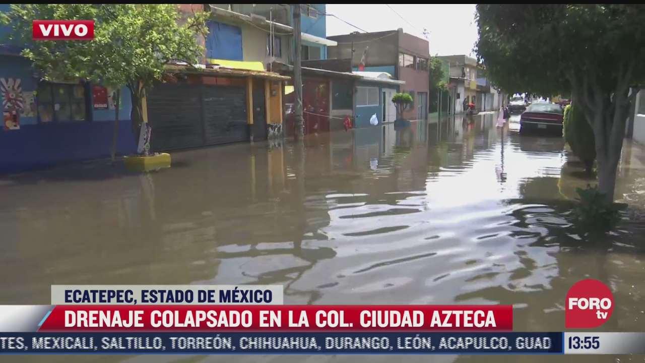 continuan los trabajos de limpieza en la colonia los bordos ecatepec