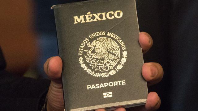 Pasaporte mexicano (Cuartoscuro)