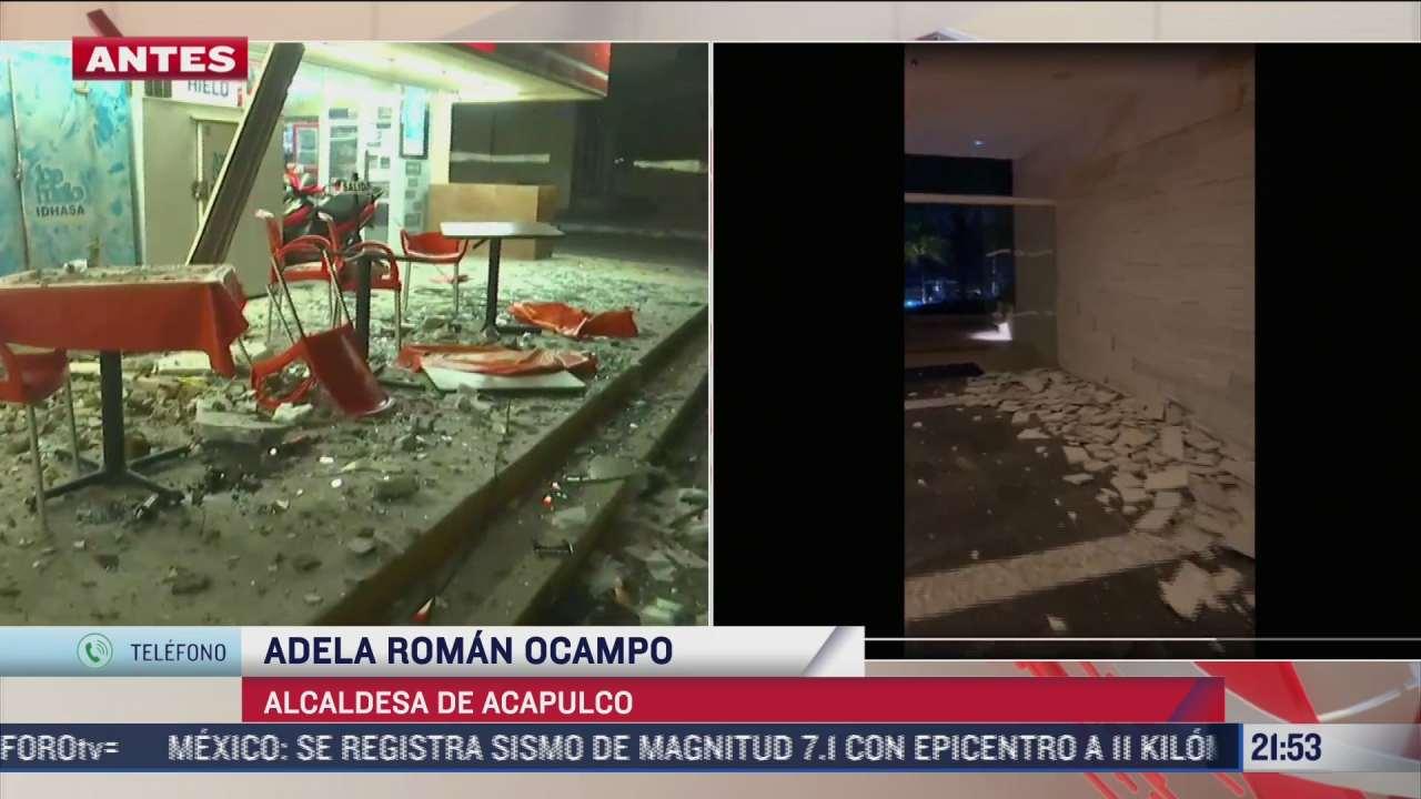 descartan danos mayores en zona hotelera de acapulco tras sismo magnitud