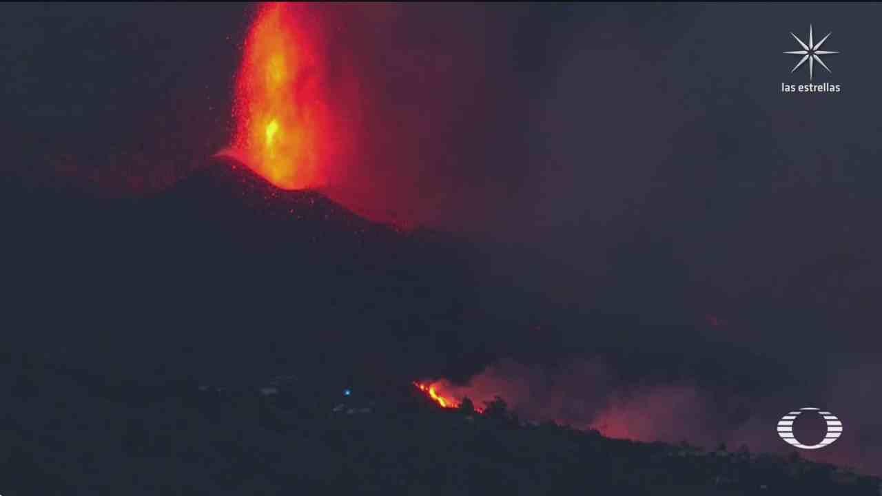 despierta el volcan cumbre vieja en la palma con la mayor erupcion en medio siglo en espana