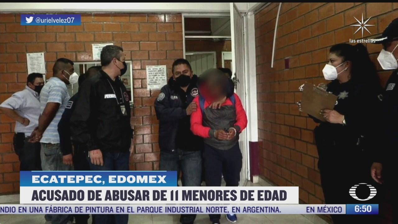 detienen en ecatepec estado de mexico a pastor por abuso de 11 ninos en monterrey