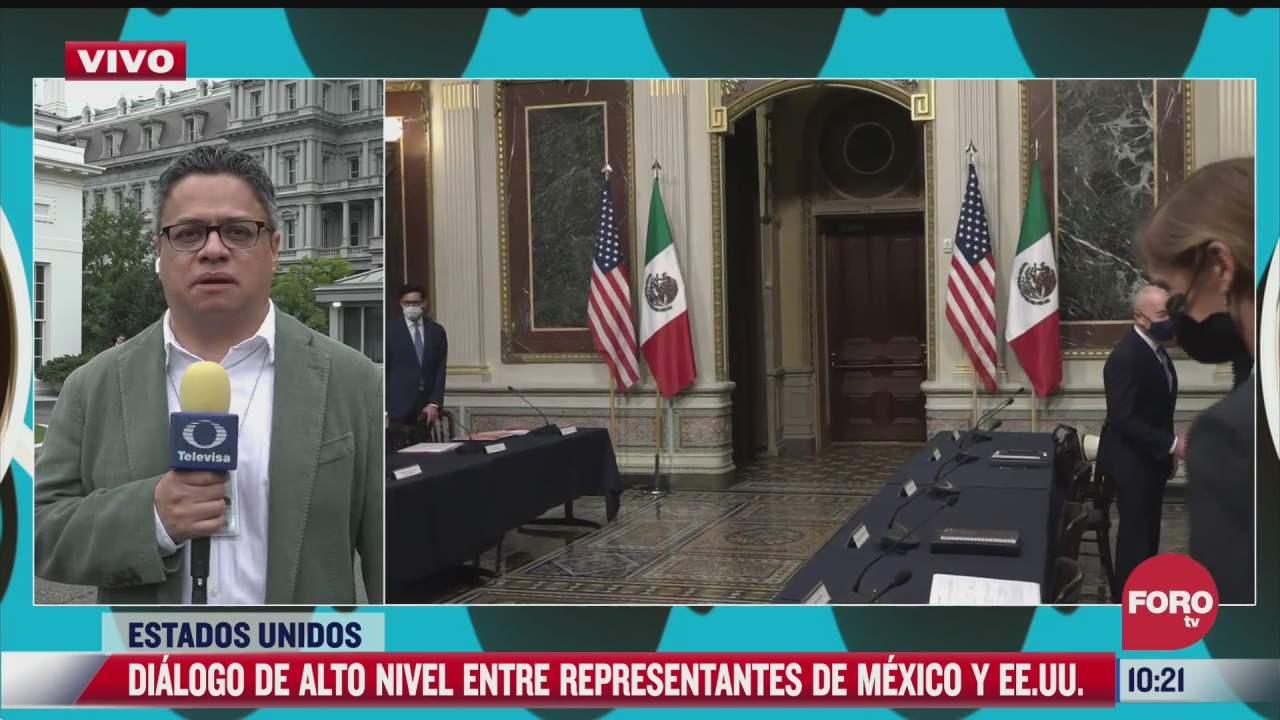 dialogo de alto nivel entre mexico y eeuu durara tres horas en la casa blanca
