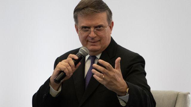 El secretario de Relaciones Exteriores, Marcelo Ebrard (Cuartoscuro)