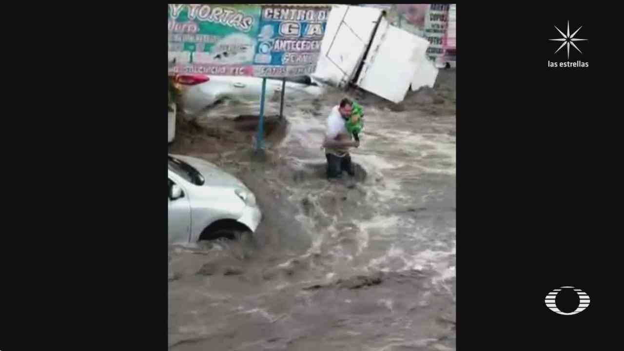ecatepec bajo el agua