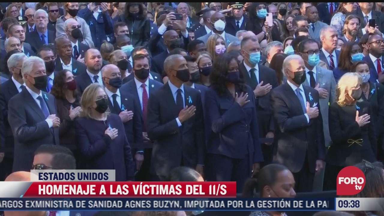 eeuu rinde homenaje a victimas de los ataques del 11 s