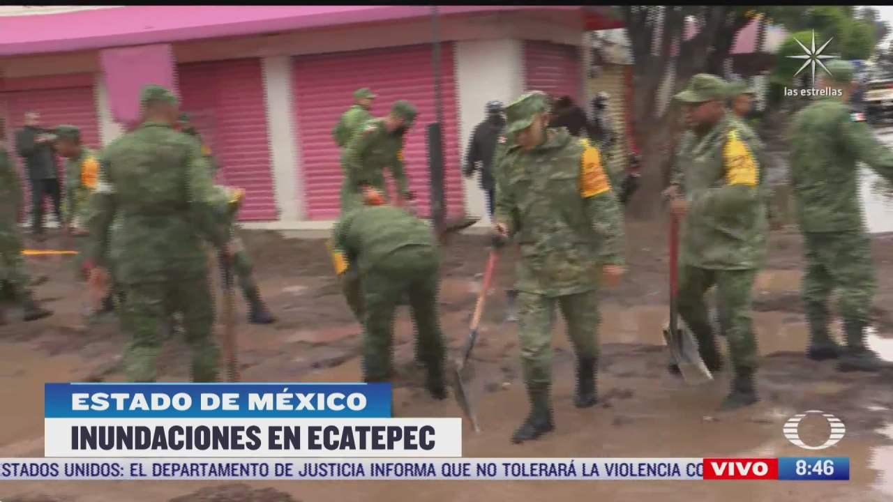 ejercito mexicano aplica plan dniii tras inundaciones en ecatepec