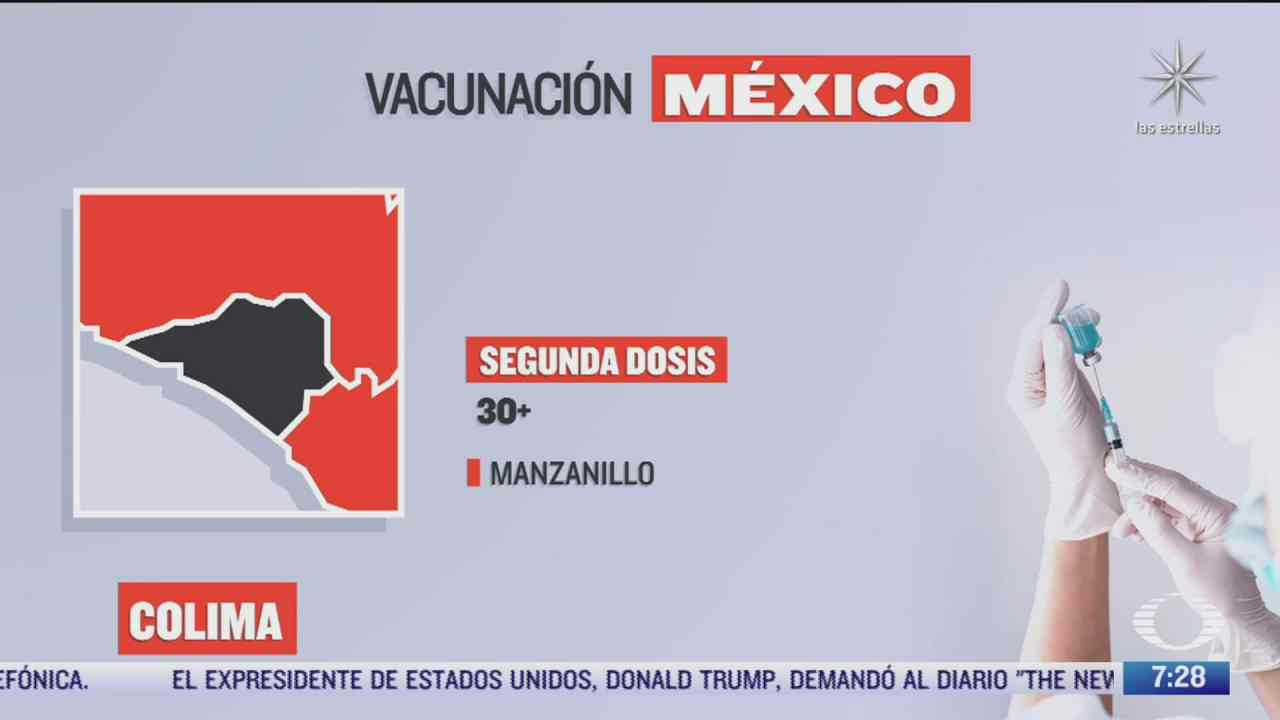 en que estados inicia la vacunacion covid hoy 23 de septiembre de