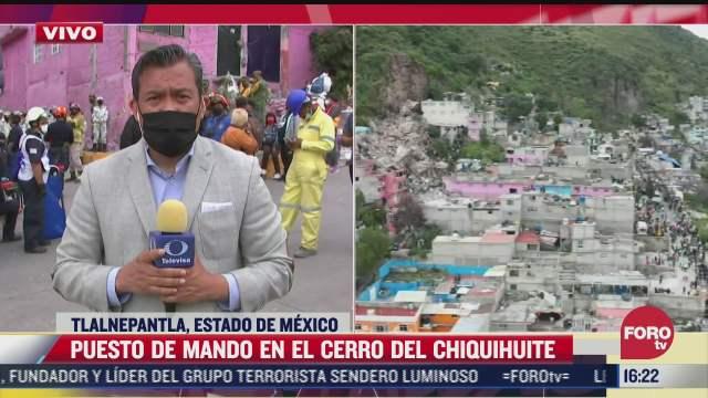 Ajustan cifra de desaparecidos tras deslave del cerro del Chiquihuite
