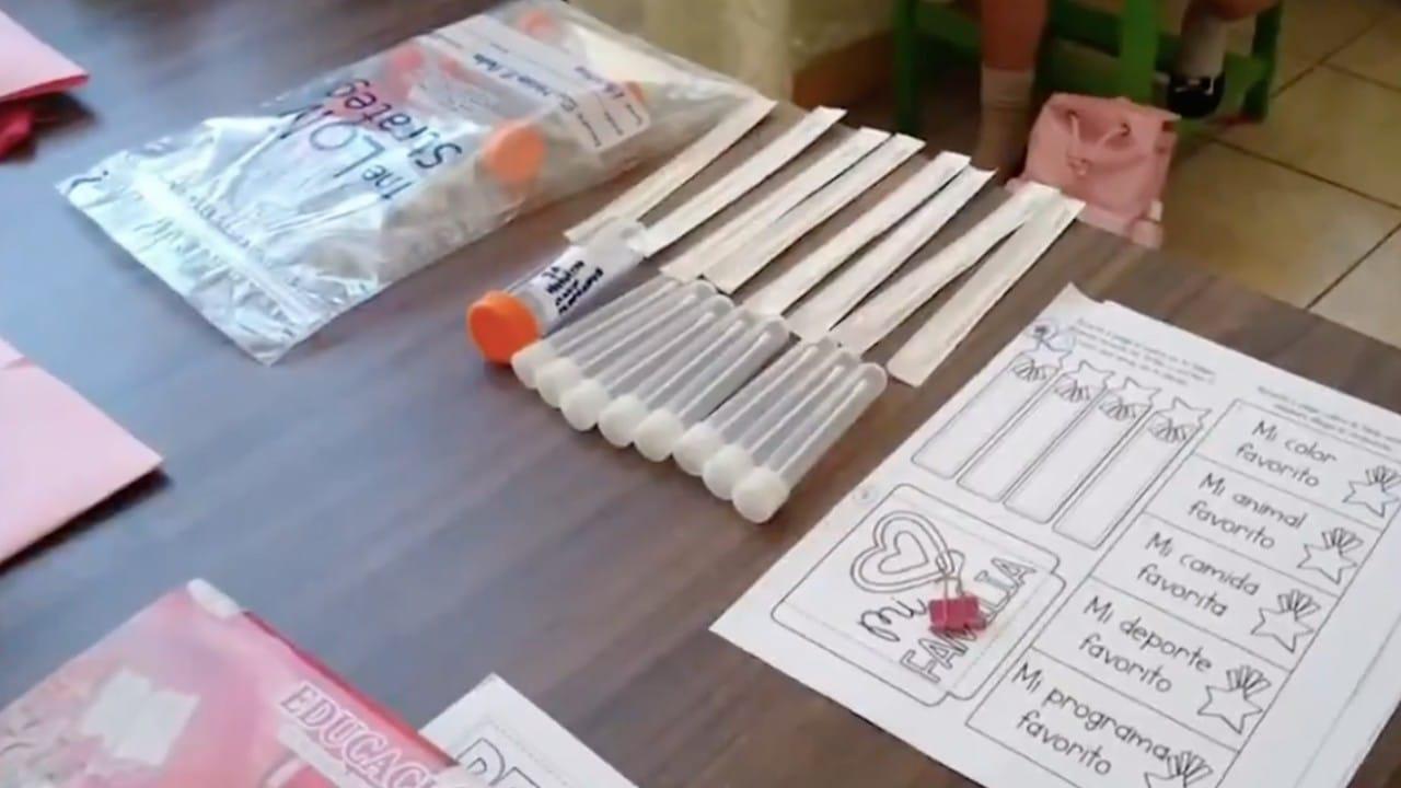 Escuelas de Tabasco aplican pruebas PCR a niños, detectan 58 casos positivos por COVID