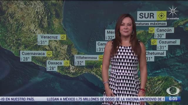 frente frio afectara al norte noreste y centro de mexico