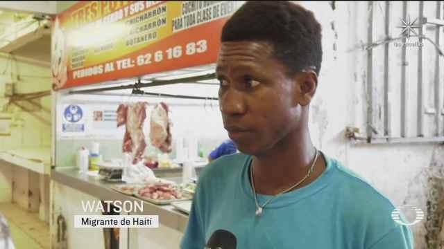 haitiano desiste de llegar a eu y consigue trabajo en tapachula