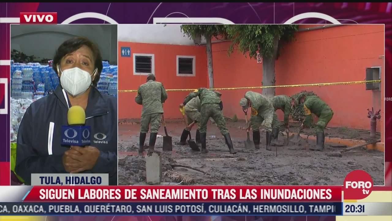 hidalgo recibe mucha ayuda de la ciudadania tras inundaciones