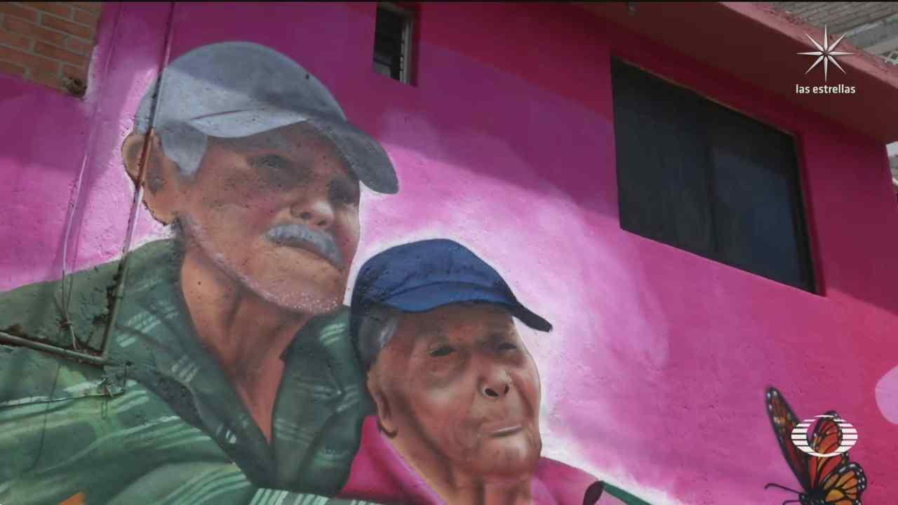 historias de habitantes de iztapalapa inspiran murales