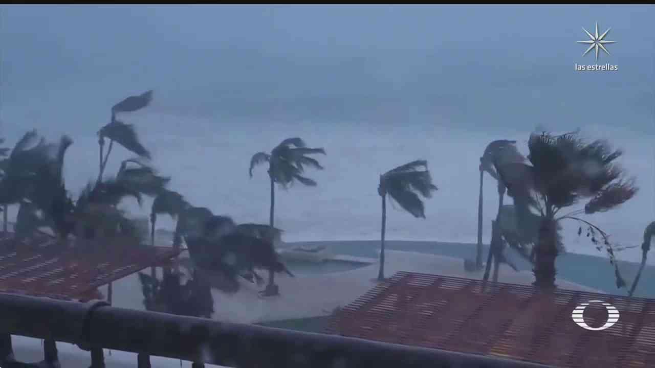 huracan olaf causa alerta por lluvias torrenciales