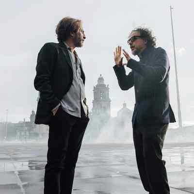 El actor mexicano Daniel Jiménez Cacho y Alejandro González Iñárritu (EFE)