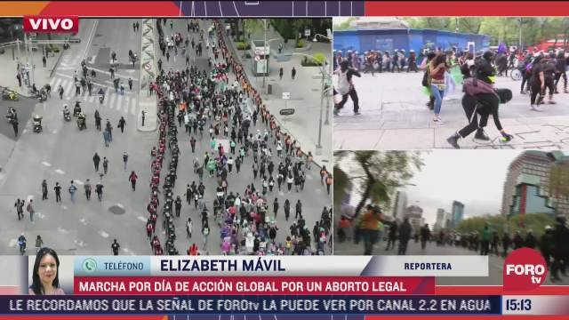 integrantes del bloque negro vandalizan monumentos y semaforos en paseo de la reforma