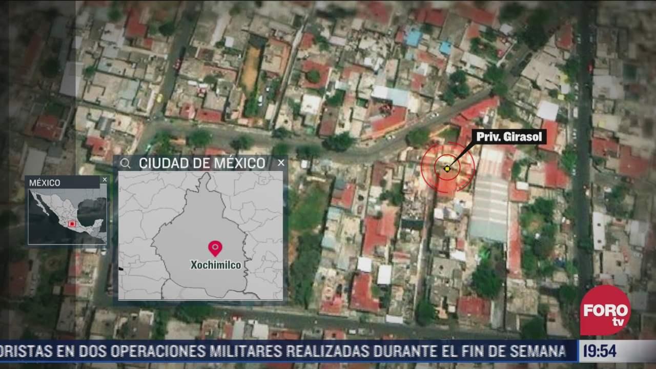 investigan asesinato de nino en domicilio de xochimilco