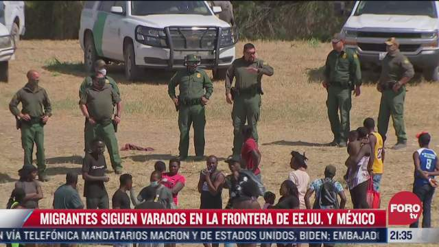 llegan mas migrantes haitianos a ciudad juarez