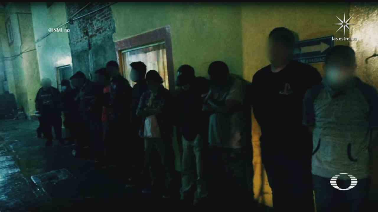 localizan a cientos de migrantes en operativos del inm