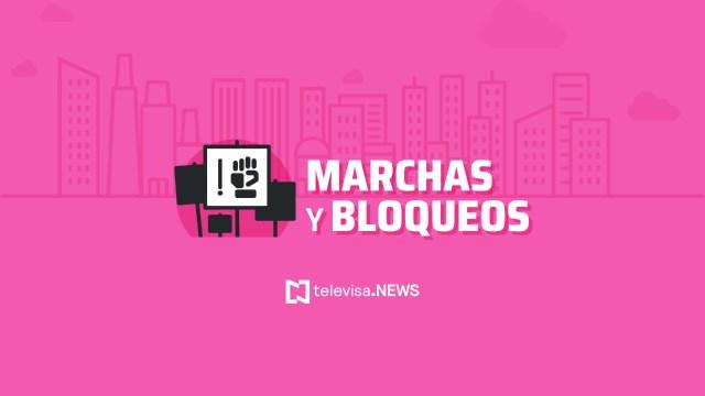 ¿Habrá marchas, bloqueos o manifestaciones hoy en la CDMX?